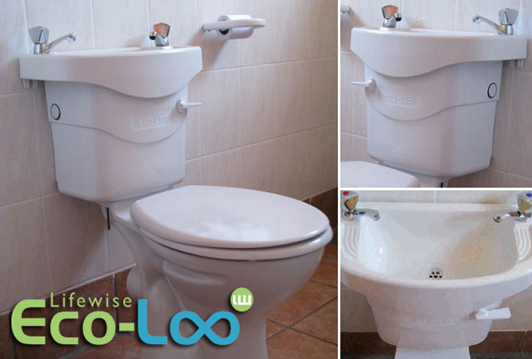 Lifewise Eco Loo Sa Environmental Water Saving Solution